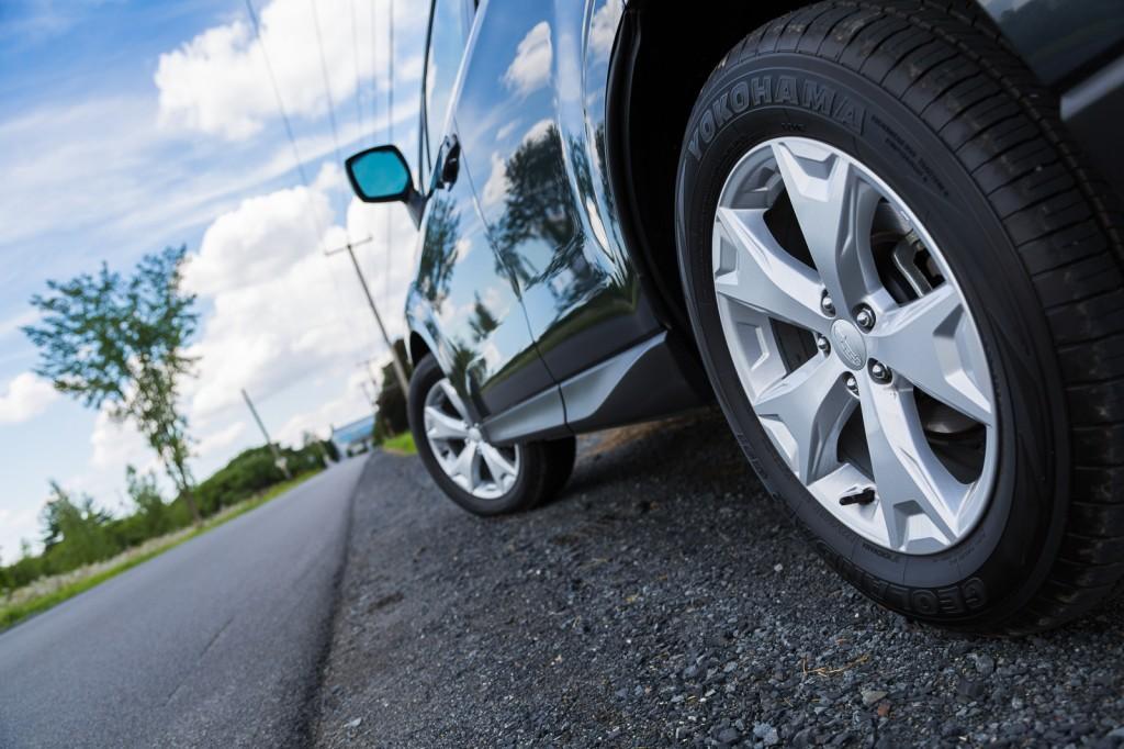2015 Subaru Forester wheel view