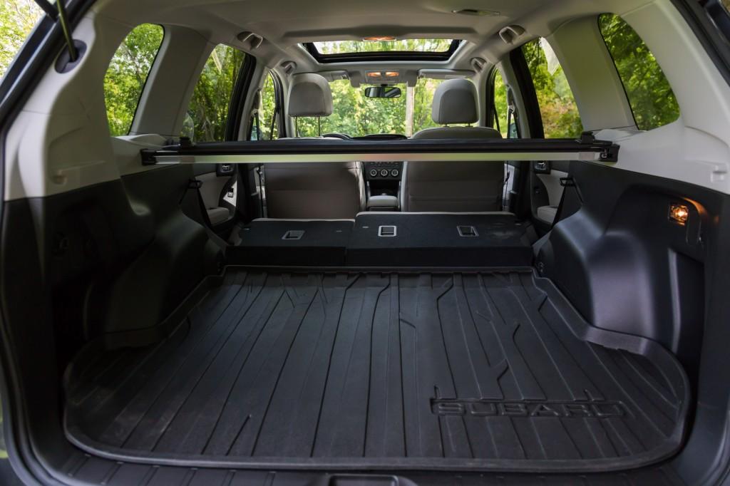 2015 Subaru Forester cargo view