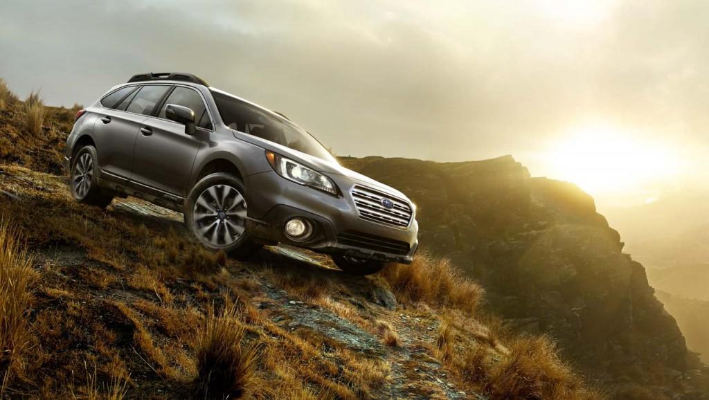 2015 Subaru Outback exterior view (photo credit: Subaru Canada)