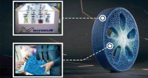 Michelin's Vision Concept tire of the future